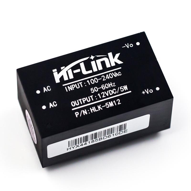 220VAC naar 12VDC 0,42A converter module HLK-5M12