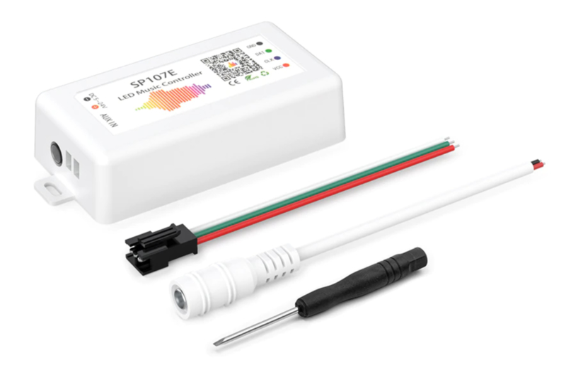 RGB WS2812 LED Strip disco licht controller SP107E