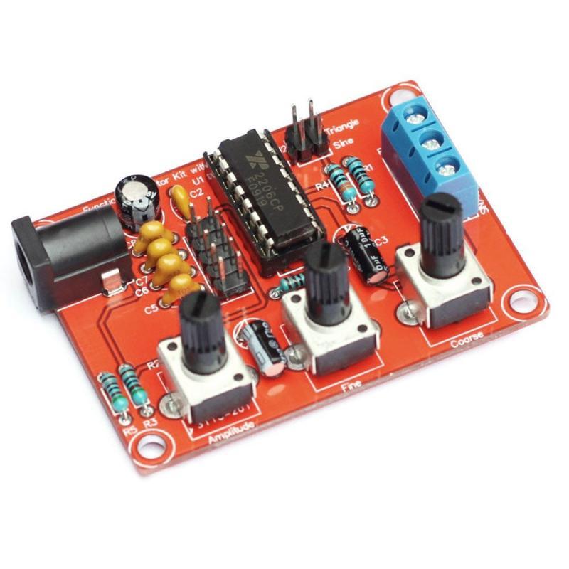 XR2206 Signaalgenerator Sine / Triangle / Square DIY bouwpakket
