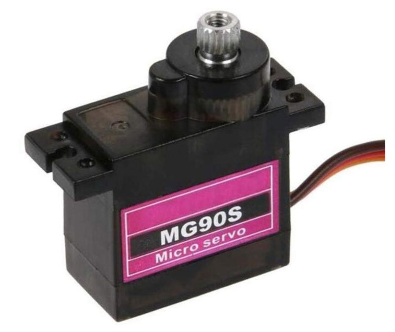 Servo MG90S Mini Metalen tandwielen 360 graden