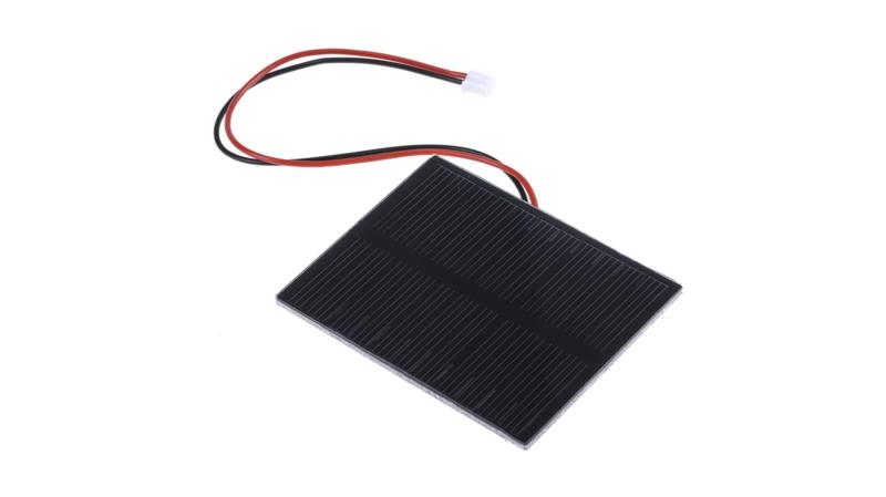 Mini zonnepaneel 70x55mm