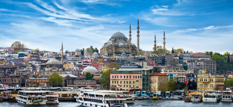 Istanbul - Turkije (Kaartje 1/2)