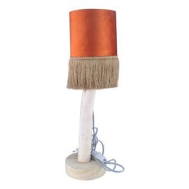 tafellamp met kapje