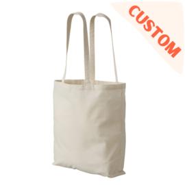 custom tote bag ecru