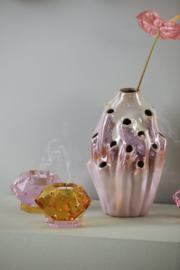 Eden outcast 'lava' vaas roze maat L