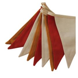 Moi Mili vlaggen slinger 'ochre'