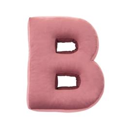 Betty's Home letterkussen 'B'