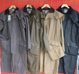 Wax long coat