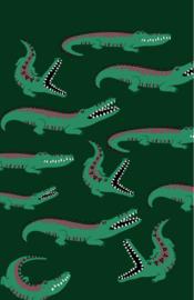 mini kaart jungle, krokodillen 10 stuks