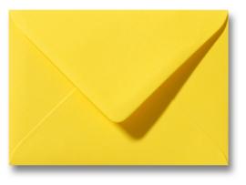 enveloppe, boterbloemgeel