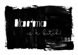kaart, Karma is a bitch! 10 stuks