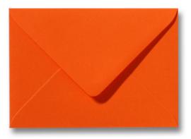 enveloppe, donker oranje