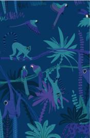 mini kaart jungle,  by night 10 stuks
