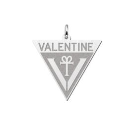 Valentine Pendant Triangle
