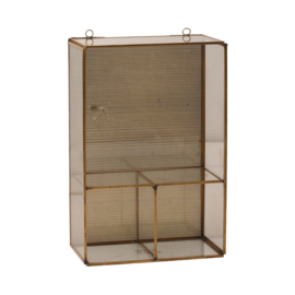 Hitz iron brass wall storage
