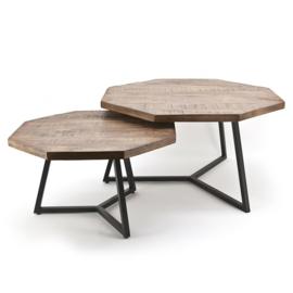 Coffeetable set Octagon