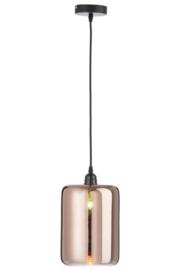 Lamp Cilinder Glas Koper
