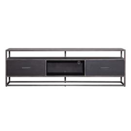 Tv meubel Hudson 185 cm zwart