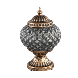 Vieve glass LED lantern bulb round
