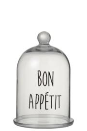 Stolp Bon Appetit Rond Glas Transparant/Koper