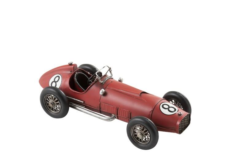 Car Race nr8 Metal Red