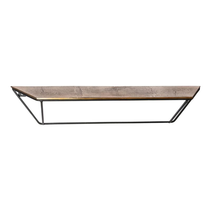 Beau gold alu open wall shelf