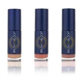 Brush on Block, lip oil tint nude