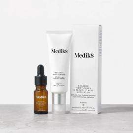 Balance moisturiser & glycolic acid activator