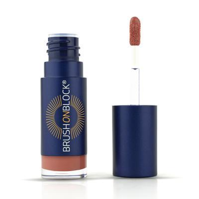 Brush on Block, lip oil tint fig