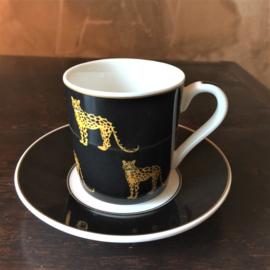 Koffie set porselein in een mooie geschenk doos !