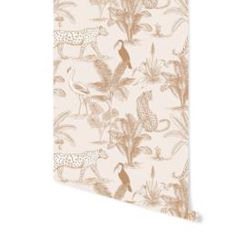 Wallpaper - Jungle Beige