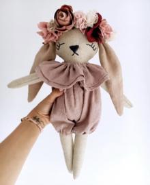 Bunny | Flower Headband Pink