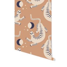 Wallpaper - Tiger Dance