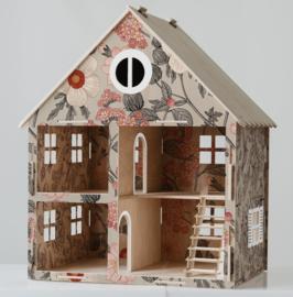 Wooden Dollhouse Grande | Garden