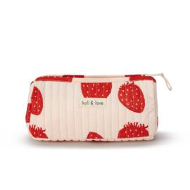 Pouche   Pink Strawberry