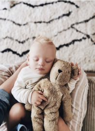Cuddly Animal Bear | Small Beige