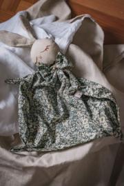 Bunny Cuddle Cloth   Bohemiam Flower