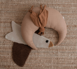 Moon Pillow Large | Camel
