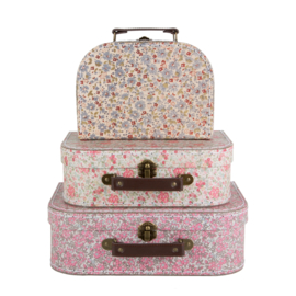 Vintage Floral Suitcase | Set of 3