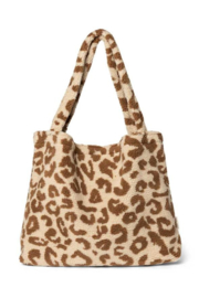 LIMITED EDITION | Studio Noos Teddy Leopard Ecru Bag