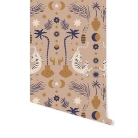 Wallpaper - Oriental Dream Brown