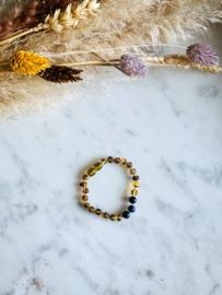 Amber Bracelet | Green Amber \ Olive