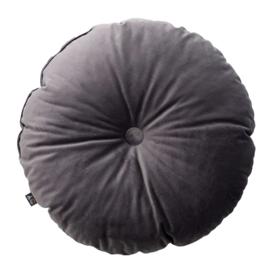 Candy Dot Pillow | Dark Grey