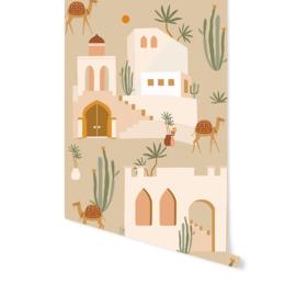 Wallpaper - Oasis Beige