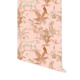 Wallpaper - Jungle Blush