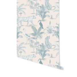 Wallpaper - Jungle Blue