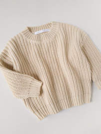 Chunky Sweater | Almond