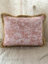 Handmade | Pinky Jungle Pillow