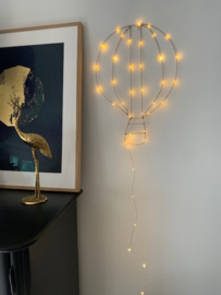 Just Fly With Me | Handmade Wall Light
