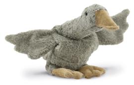 Cuddly Animal Goose   Grey Small